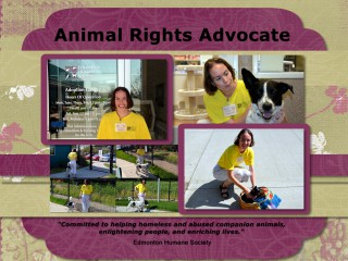 Animal Rights Advocate Lana